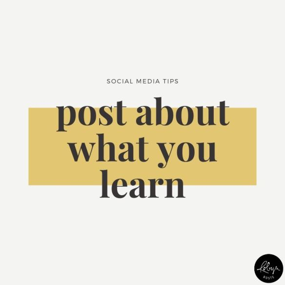 Promote your writing idea 4. Post about what you learn.