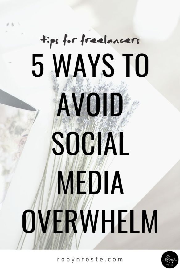 Social media overwhelm is real and reduces our capacity to connect...ironically. Here are my top 5 tips for avoiding social media overwhelm.