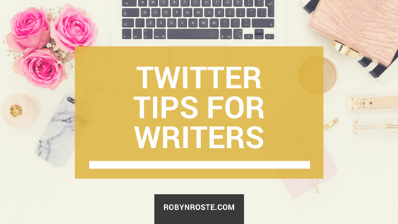 twitter tips for writers