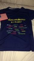 Breakfast Run shirt - all participants had to wear it