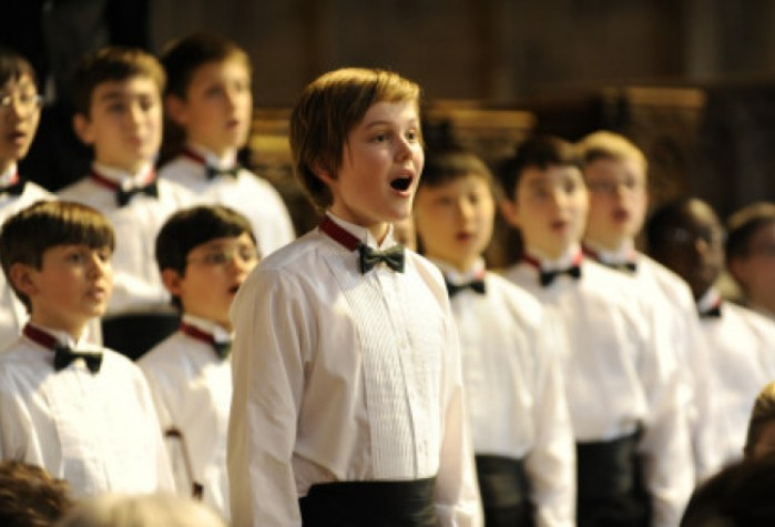 Garrett Wareing is Stet Tate, leading the National Boychoir, in the eponymous film. Photograph by Myles Aronowitz
