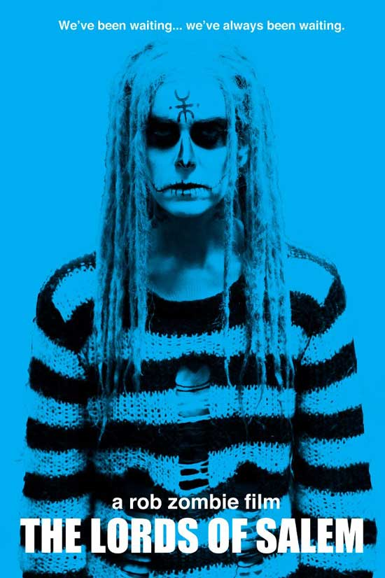 Rob Zombies The Lords of Salem full teaser poster featuring Sheri Moon Zombie
