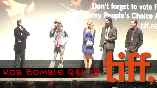 Rob Zombie and cast the lords of salem question and answer