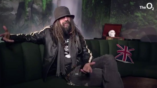 Rob Zombie interview O2 London