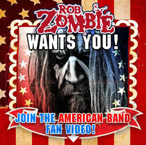 Rob Zombie American Band music video