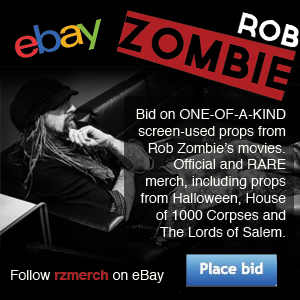 Rob Zombie official eBay store