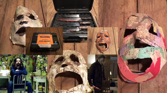 rob zombie halloween props auction - Rob Zombie Halloween Mask For Sale
