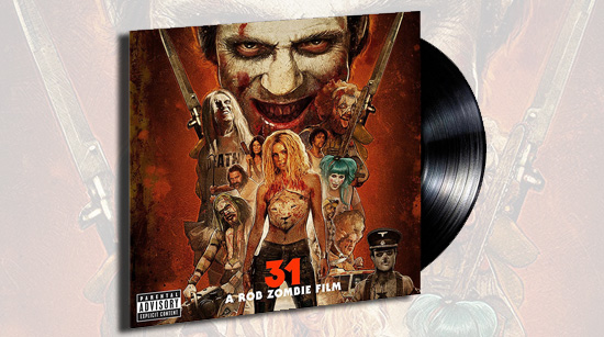 31 soundtrack vinyl Amazon Rob Zombie