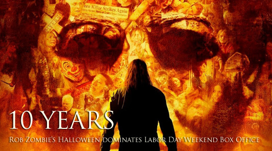 Halloween Rob Zombie Labor Day Weekend 2017 results