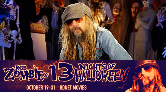 "Rob Zombie's 13 Nights of Halloween"" Schedule Announcement The ..."