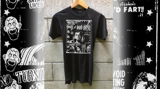 House of 1000 Corpses anniversary t-shirt Zomboogey Rob Zombie
