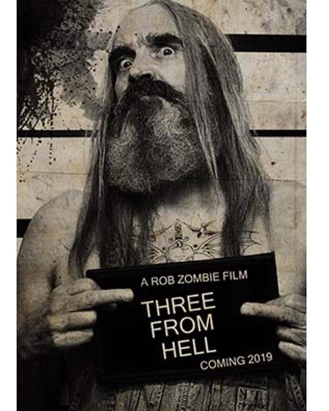 Otis Driftwood teaser poster Three From Hell Rob Zombie