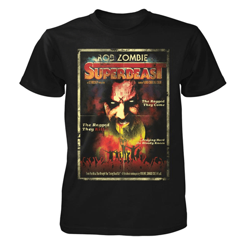 Official Rob Zombie Superbeast T-Shirt