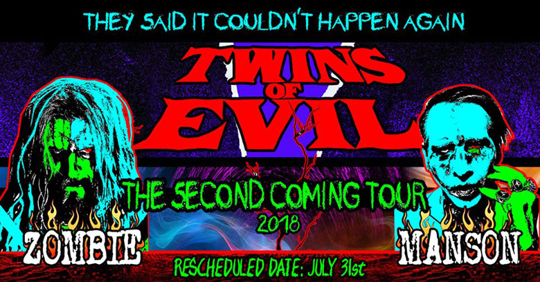 Twins fo Evil rescheduled date.