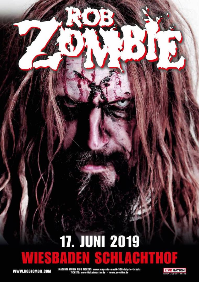 Rob Zombie Wiesbaden, Germany 2019