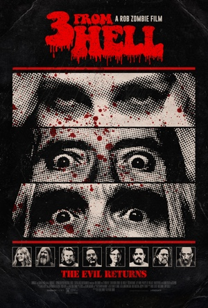 3 From Hell movie poster Rob Zombie