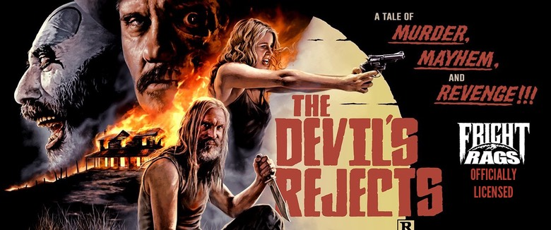 Officially licensed 'The Devil's Rejects' merchandise now
