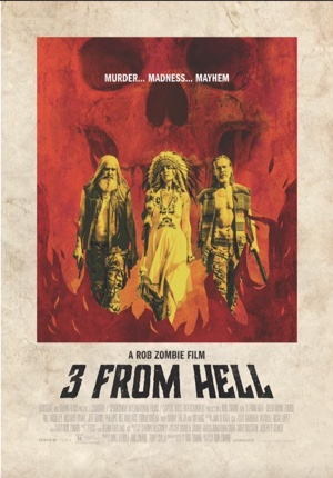 3 From Hell Rob Zombie movie poster