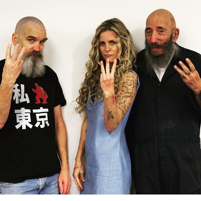 Bill Moseley Sheri Moon Zombie Sid Haig 3 From Hell