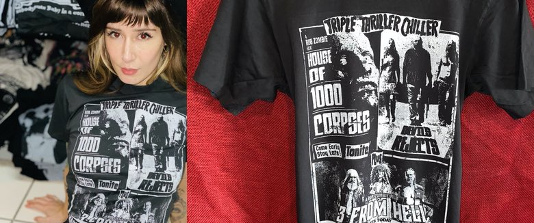 Thriller Chiller Shirt Rob Zombie Local Boogeyman Zomboogey