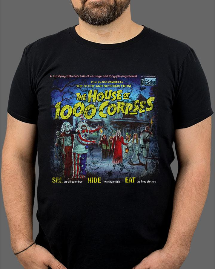 Fright Rags Rob Zombie House of 1000 Corpses