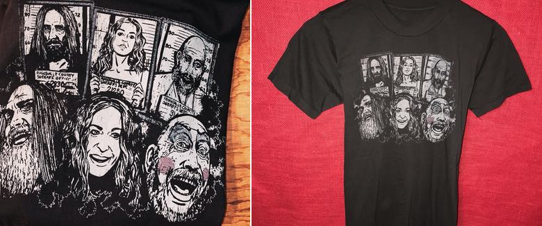 The Devils Rejects shirt Rob Zombie Local Boogeyman Shawn McKinney