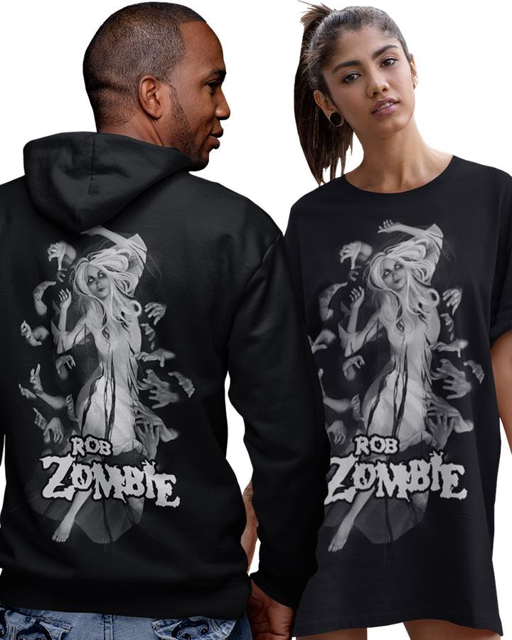 Rob Zombie merchandise available to buy online