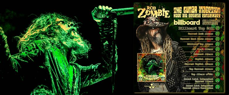 Rob Zombie The Lunar Injection Kool Aid Eclipse Conspiracy Billboard