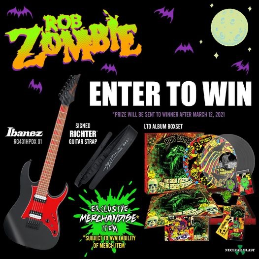Rob Zombie Lunar Injection Contest