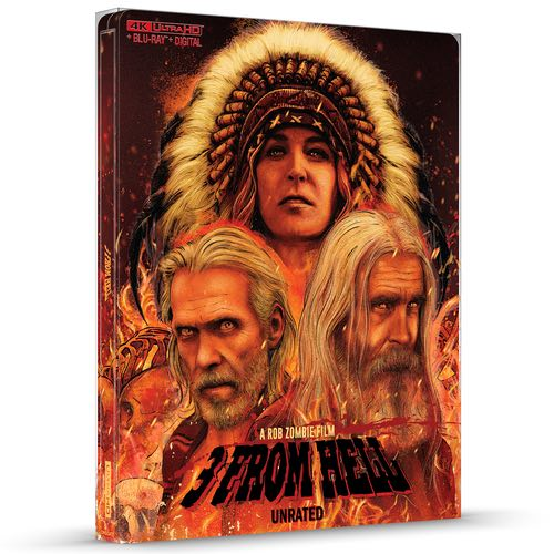 3 From Hell 4K steenbok Best Buy Rob Zombie Cover