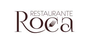 logotipo restaurante roca