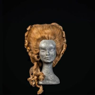Parrucca 700 stile Marie Antoniette