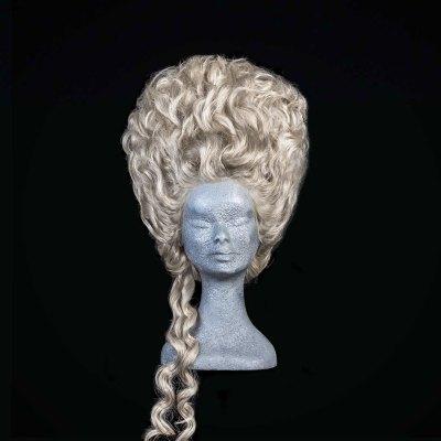 Parrucca 700 stile Marie Antoinette