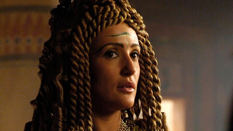 Scena della serie Rome con parrucche Rocchetti