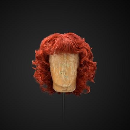 Parrucca rossa stile ondulato