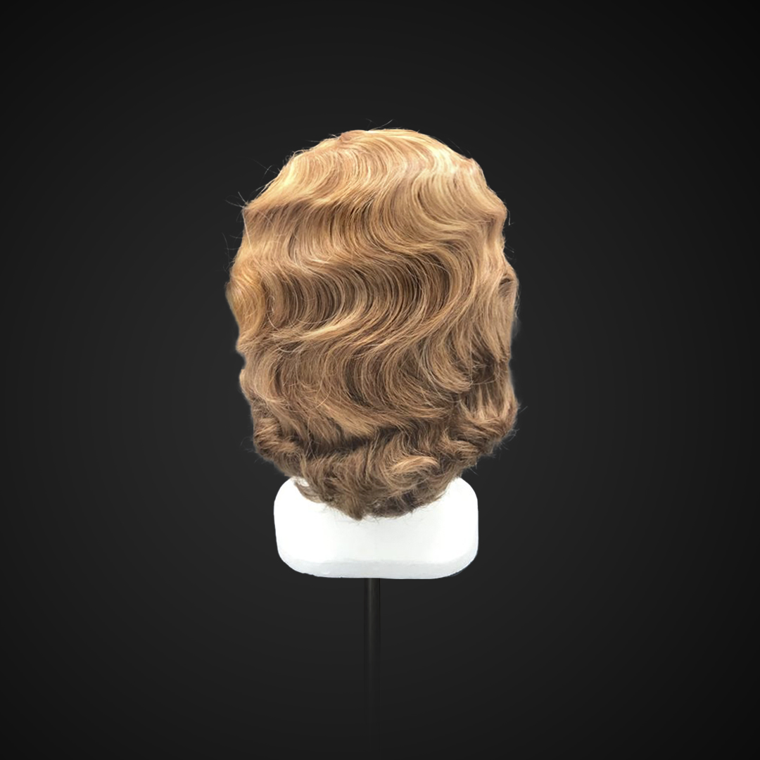 Parrucca anni '20 con onde
