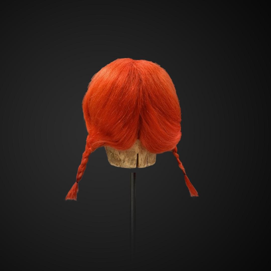 Parrucca stile Pippi Calzelunghe