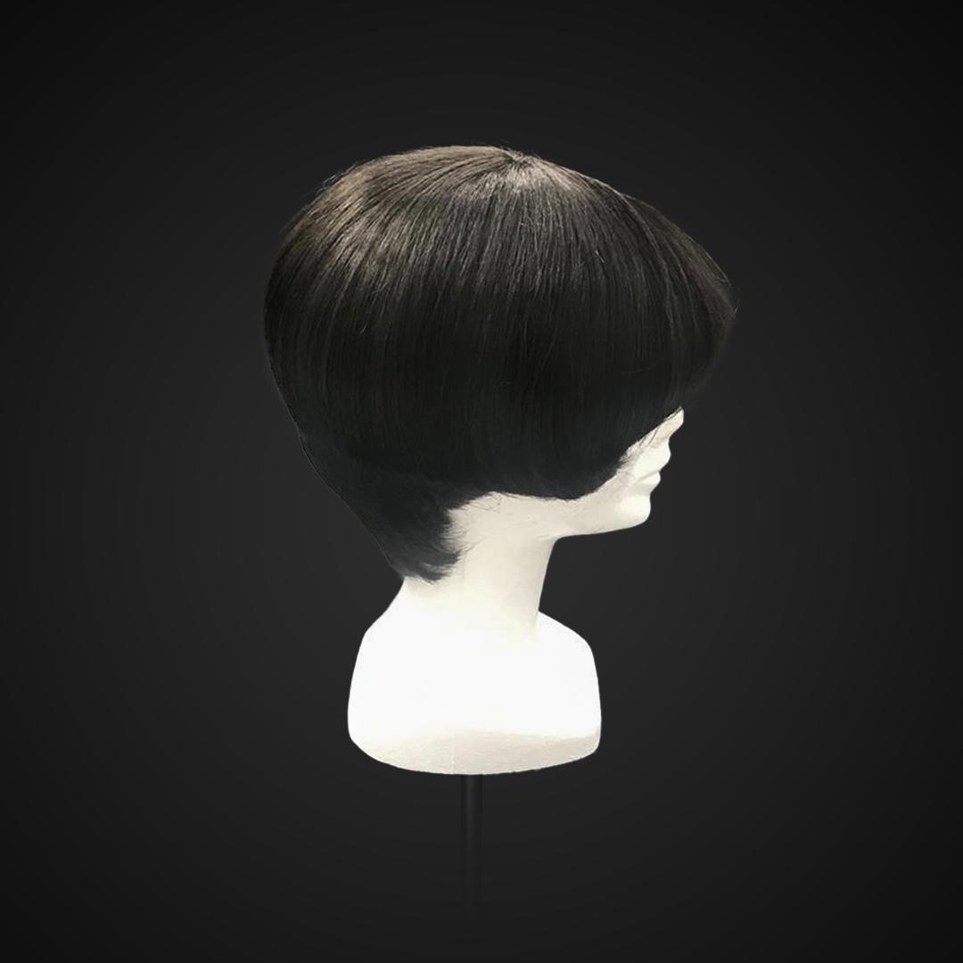 Parrucca anni '20 stile Louise Brooks