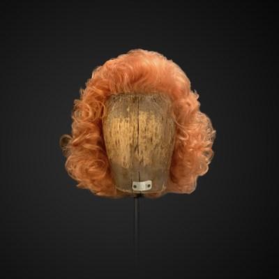 Parrucca riccia stile anni '70