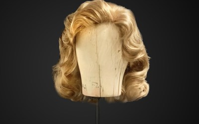 Parrucca da donna stile anni 40