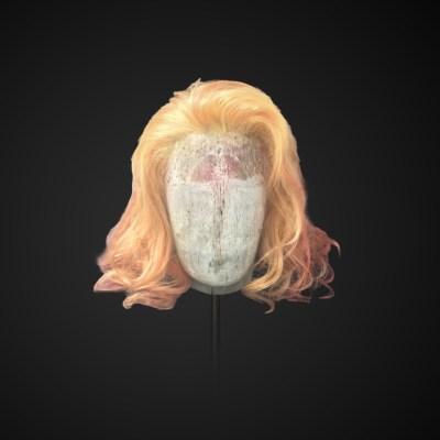 Parrucca blonde-orange