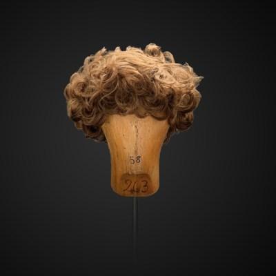 Parrucca da uomo con ricci