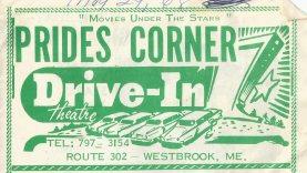Prides Corner Drive-In Westbrook Maine Circa 1968