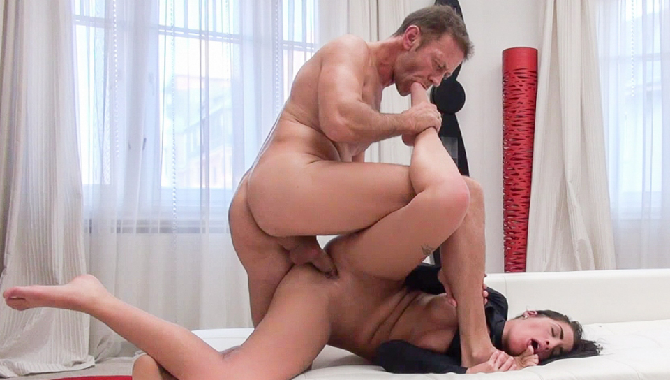 Nasty Four-Way Porn Audition – Evelina B, Loren B, Rocco Siffredi, Chad Rockwell