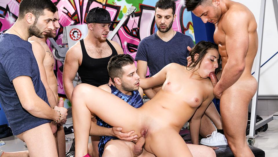 Rocco's Perfect Slaves #11, Scene #04 – Carla Crouz, Fabrizio, Alberto Blanco, Chad Rockwell