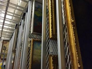 Racks on racks on racks of art!