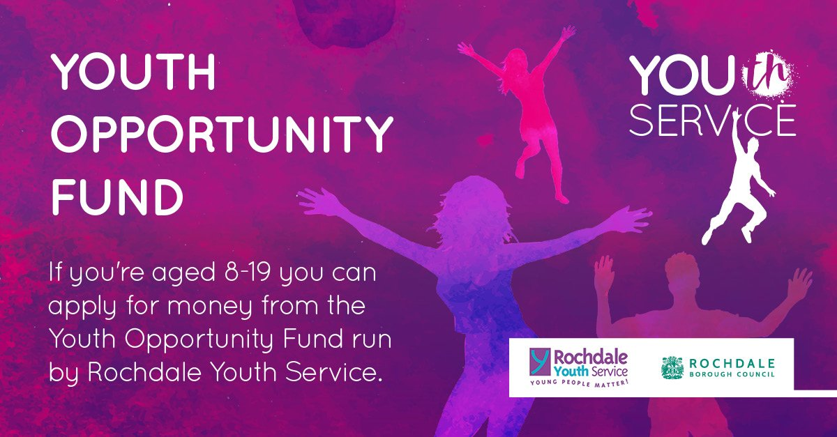 Youth Opportunity Fund NOW OPEN!!!