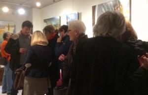 Roche gardies galerie Zonzon Brest . vernissage 22 janvier 2016 expo theatres intimes et maritimes 3