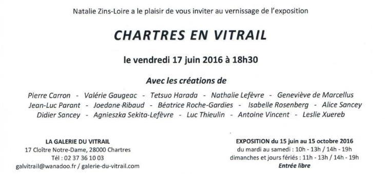 roche gardies peintre ateliers loire Exposition Chartres en vitrail 2016.2