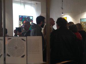 ©RocheGardies peintre ateliers loire  vernissage Exposition Chartres en vitrail  galerie du vitrail 2016 Pierre Carron, Didier Sancey, Tetsuo Harada,  Antoine Vincent , Leslie Xuereb.9
